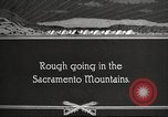 Image of 1st Cavalry Division Texas Sacramento Mountains USA, 1931, second 1 stock footage video 65675062667