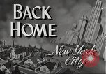 Image of Wartime conditions on American home front New York City USA, 1943, second 4 stock footage video 65675062685
