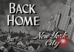 Image of Wartime conditions on American home front New York City USA, 1943, second 5 stock footage video 65675062685