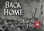 Image of Wartime conditions on American home front New York City USA, 1943, second 6 stock footage video 65675062685