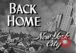 Image of Wartime conditions on American home front New York City USA, 1943, second 7 stock footage video 65675062685