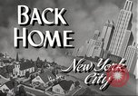 Image of Wartime conditions on American home front New York City USA, 1943, second 8 stock footage video 65675062685