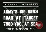 Image of United States soldiers Fort Hancock New Jersey USA, 1937, second 5 stock footage video 65675062687