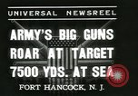 Image of United States soldiers Fort Hancock New Jersey USA, 1937, second 9 stock footage video 65675062687