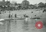 Image of log-rolling championship Port Townsend Washington USA, 1937, second 12 stock footage video 65675062689