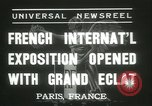 Image of International Exposition Paris 1937 Paris France, 1937, second 2 stock footage video 65675062691