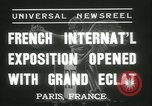 Image of International Exposition Paris 1937 Paris France, 1937, second 5 stock footage video 65675062691