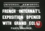 Image of International Exposition Paris 1937 Paris France, 1937, second 7 stock footage video 65675062691