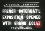 Image of International Exposition Paris 1937 Paris France, 1937, second 8 stock footage video 65675062691