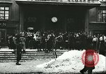 Image of Norwegian civilians board trains for ski trip Oslo Norway, 1942, second 3 stock footage video 65675062703