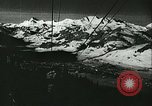 Image of slalom race Europe, 1942, second 2 stock footage video 65675062704