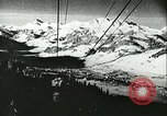 Image of slalom race Europe, 1942, second 3 stock footage video 65675062704