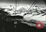 Image of slalom race Europe, 1942, second 4 stock footage video 65675062704