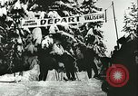Image of slalom race Europe, 1942, second 5 stock footage video 65675062704