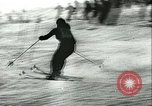 Image of slalom race Europe, 1942, second 7 stock footage video 65675062704