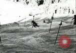 Image of slalom race Europe, 1942, second 9 stock footage video 65675062704