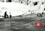 Image of slalom race Europe, 1942, second 10 stock footage video 65675062704