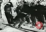 Image of slalom race Europe, 1942, second 11 stock footage video 65675062704