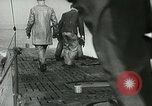 Image of German submarine on patrol Atlantic Ocean, 1942, second 7 stock footage video 65675062714