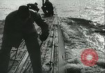 Image of German submarine on patrol Atlantic Ocean, 1942, second 12 stock footage video 65675062714