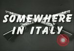 Image of United States troops Italy, 1944, second 5 stock footage video 65675062728
