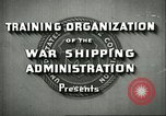 Image of United States Merchant Marine United States USA, 1942, second 3 stock footage video 65675062732