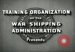 Image of United States Merchant Marine United States USA, 1942, second 4 stock footage video 65675062732