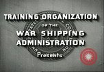 Image of United States Merchant Marine United States USA, 1942, second 5 stock footage video 65675062732