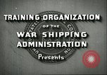 Image of United States Merchant Marine United States USA, 1942, second 7 stock footage video 65675062732
