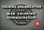 Image of United States Merchant Marine United States USA, 1942, second 8 stock footage video 65675062732