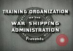 Image of United States Merchant Marine United States USA, 1942, second 9 stock footage video 65675062732