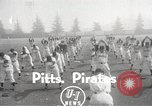 Image of Pittsburgh Pirates Spring training San Bernardino California USA, 1950, second 2 stock footage video 65675062750