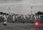 Image of baseball training camp Tampa Florida USA, 1950, second 4 stock footage video 65675062751