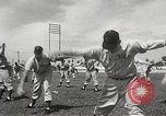 Image of baseball training camp Tampa Florida USA, 1950, second 6 stock footage video 65675062751