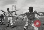 Image of baseball training camp Tampa Florida USA, 1950, second 8 stock footage video 65675062751