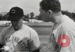 Image of baseball training camp Tampa Florida USA, 1950, second 12 stock footage video 65675062751