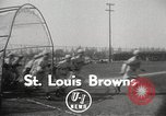 Image of St Louis Browns baseball team at spring training United States USA, 1950, second 3 stock footage video 65675062752