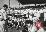 Image of Detroit Tigers baseball team Florida United States USA, 1950, second 5 stock footage video 65675062754