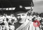 Image of Detroit Tigers baseball team Florida United States USA, 1950, second 6 stock footage video 65675062754