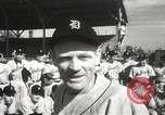 Image of Detroit Tigers baseball team Florida United States USA, 1950, second 8 stock footage video 65675062754