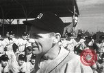 Image of Detroit Tigers baseball team Florida United States USA, 1950, second 9 stock footage video 65675062754