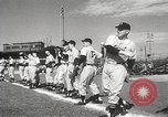 Image of Detroit Tigers baseball team Florida United States USA, 1950, second 10 stock footage video 65675062754