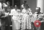 Image of Genevieve de Galard-Terraube Washington DC USA, 1954, second 5 stock footage video 65675062758