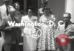 Image of Genevieve de Galard-Terraube Washington DC USA, 1954, second 7 stock footage video 65675062758