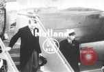 Image of Rene Coty Holland Netherlands, 1954, second 1 stock footage video 65675062760
