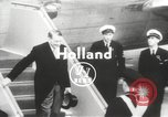 Image of Rene Coty Holland Netherlands, 1954, second 2 stock footage video 65675062760