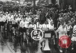 Image of 100 mile walking race United Kingdom, 1954, second 8 stock footage video 65675062763