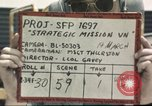 Image of B-52D Stratofortress Thailand U-Tapao Air Base, 1968, second 2 stock footage video 65675062776