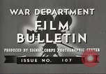 Image of U.S. Army movies for soldiers during World War II United States USA, 1943, second 2 stock footage video 65675062805