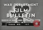 Image of U.S. Army movies for soldiers during World War II United States USA, 1943, second 3 stock footage video 65675062805